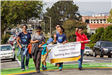 254 spelling bee champs in Parade - Photo by Marin Stuart