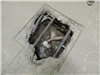 Collapsed Drain with Radiant Heating in Men's Locker Room