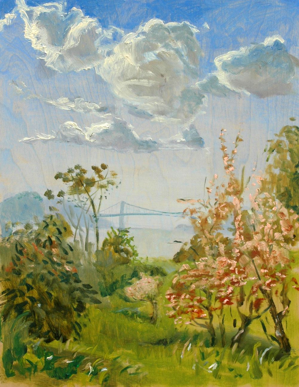 8 bay view hilltop _amei_papitto_oil_painting_1