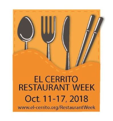El Cerrito Restaurant Week Logo 2017