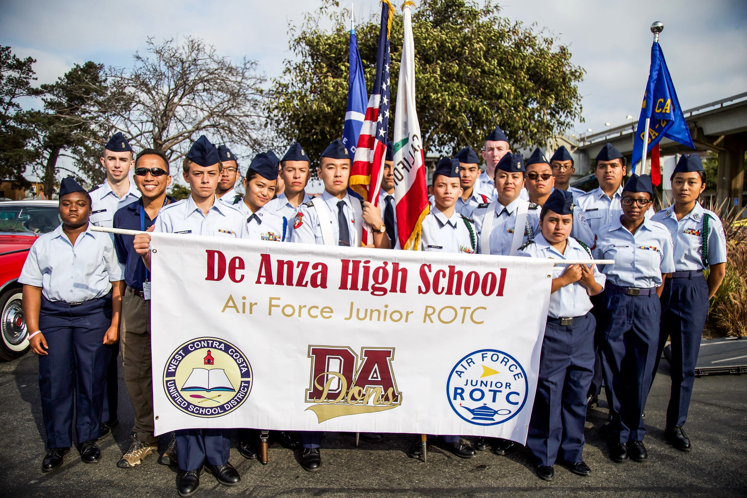 027 ROTC - Photo by Marin Stuart