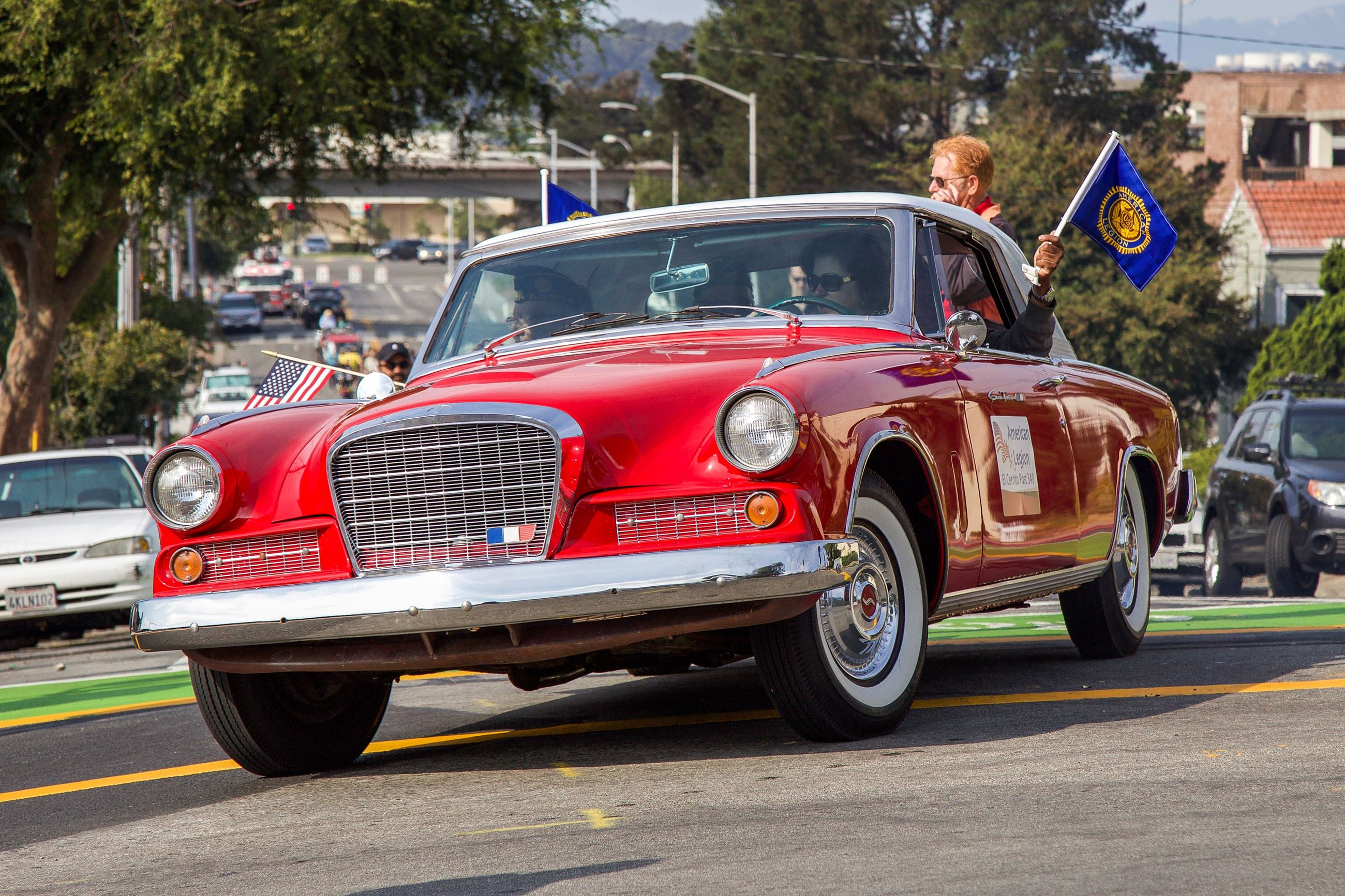 202 American Legion in Parade - Photo by Marin Stuart