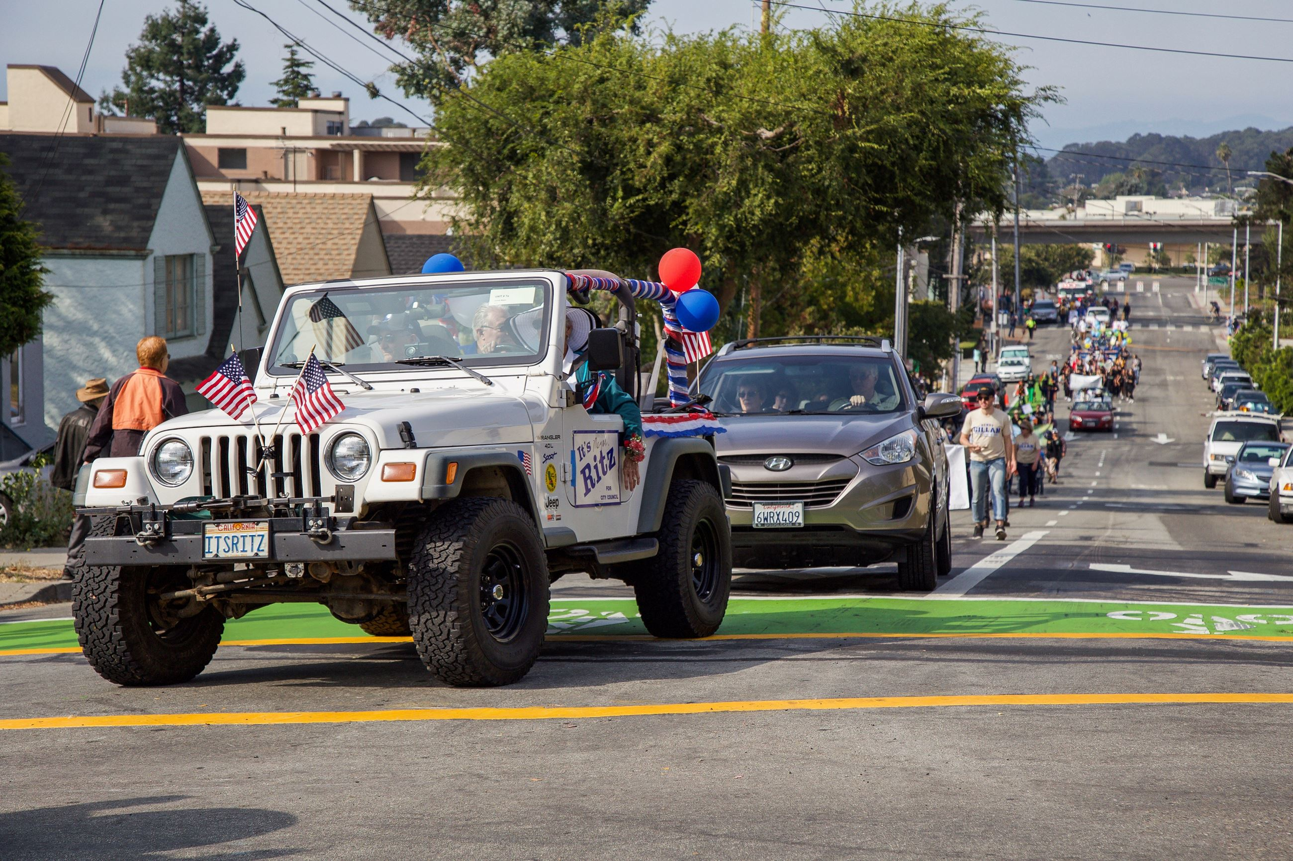 222 Former Mayors Unit in Parade 6 - Photo by Marin Stuart