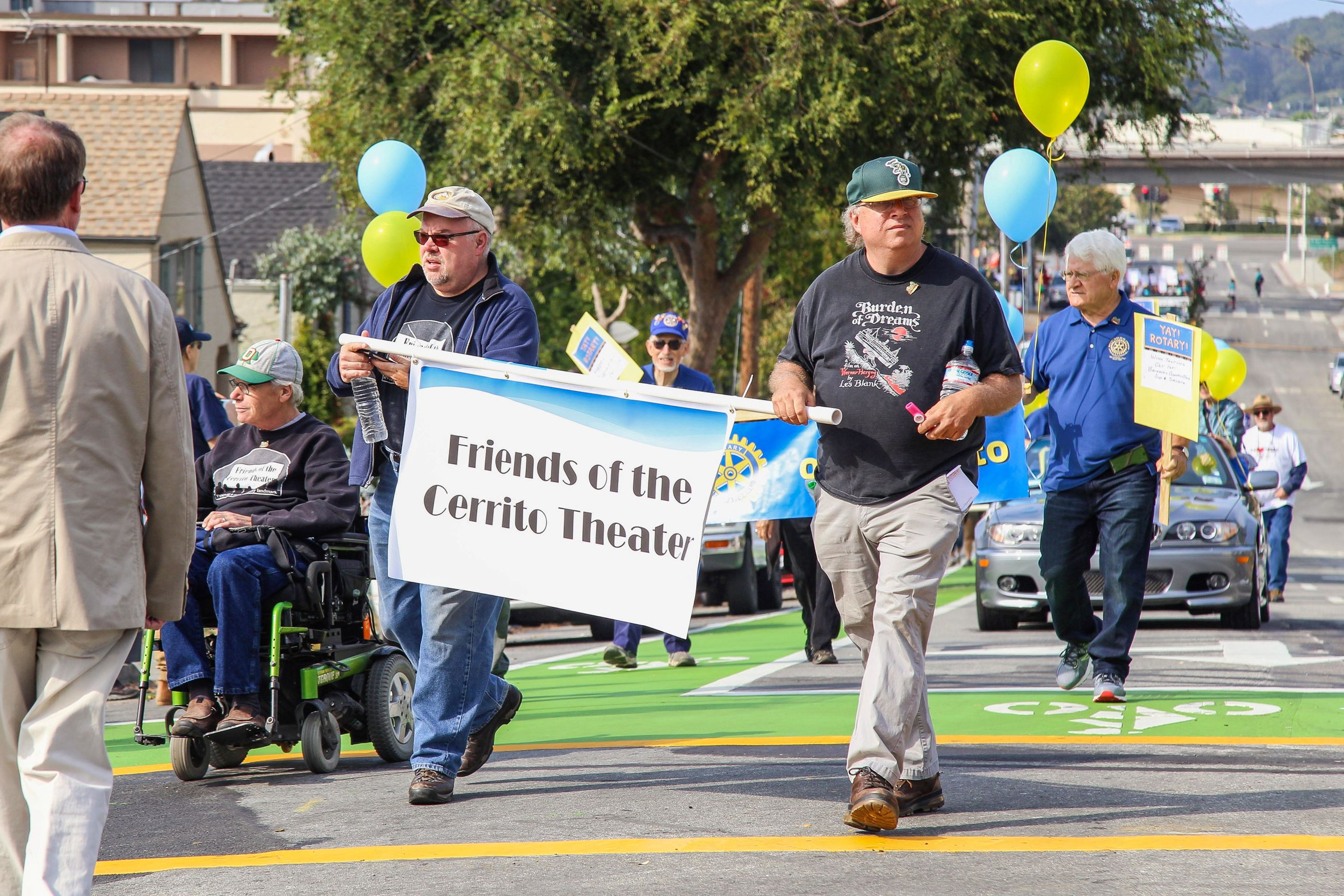 232 Friends of the Cerrito Theatre in the Parade - Photo by Marin Stuart