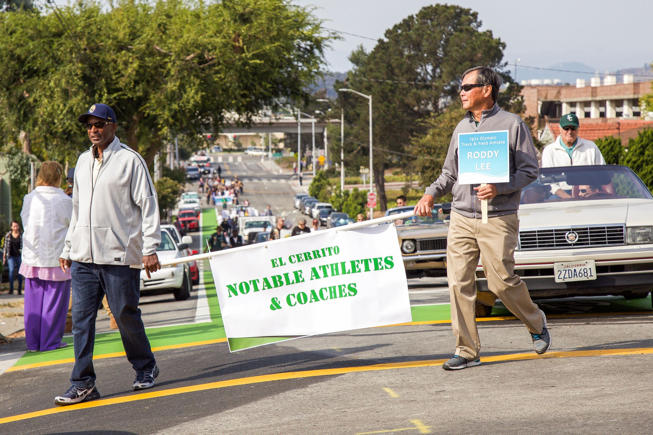 238 Notabe athletes in the Parade - Photo by Marin Stuart