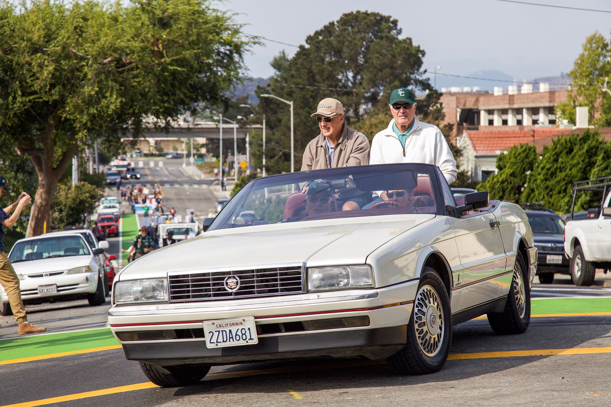 240 Notable coaches in the Parade - Photo by Marin Stuart