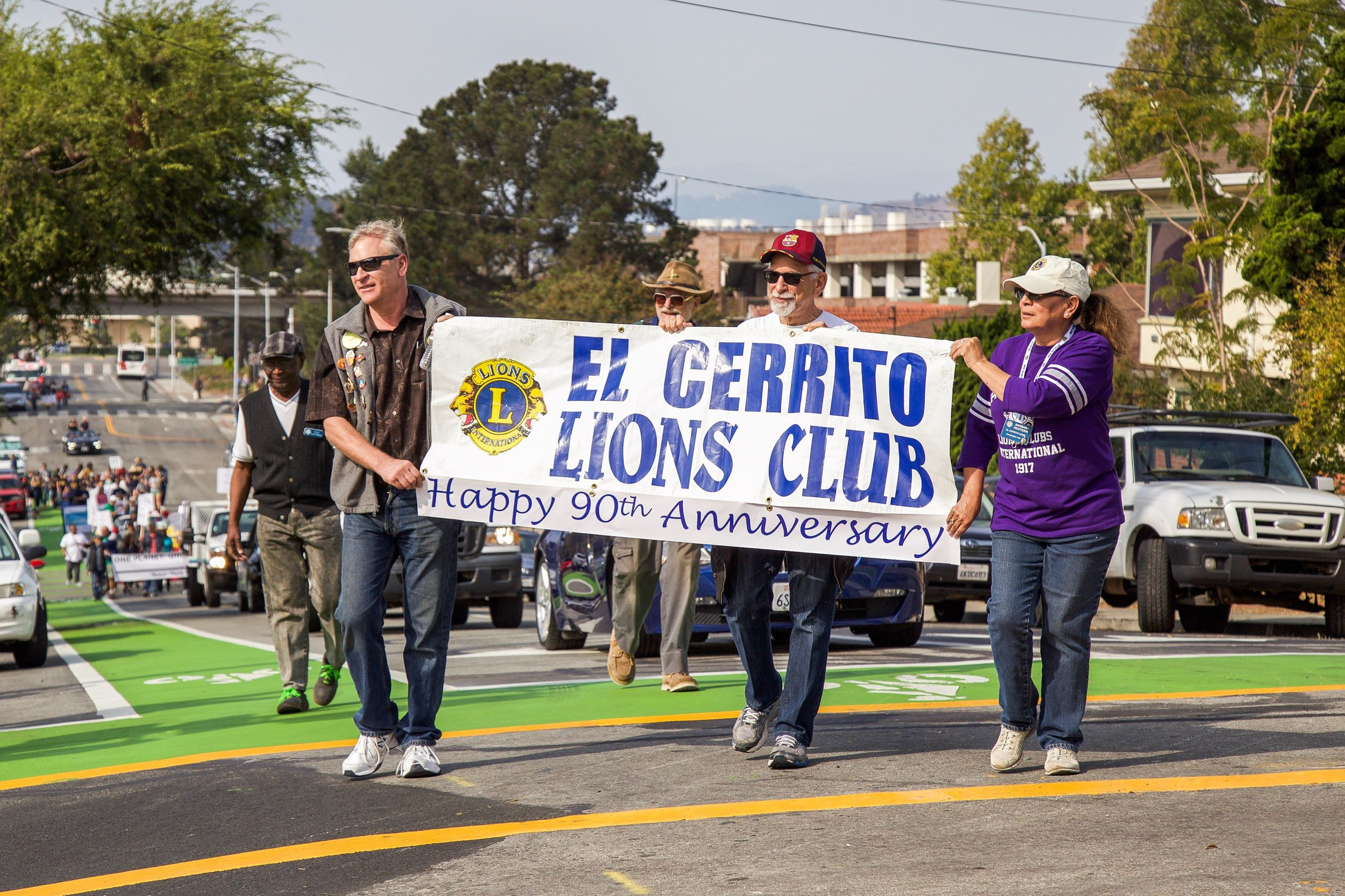 242 Lions in Parade - Photo by Marin Stuart