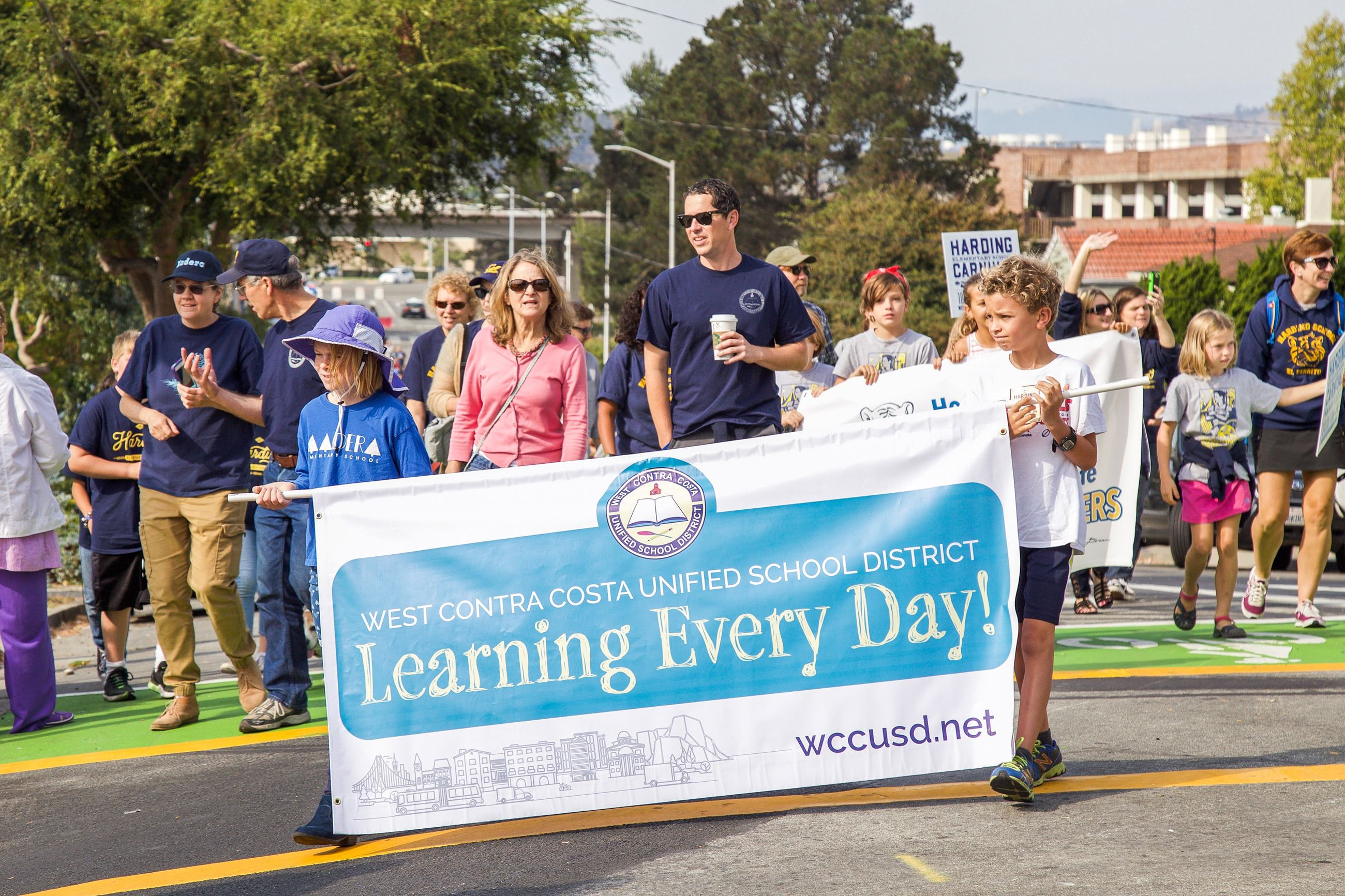 251 WCCUSD in Parade - Photo by Marin Stuart