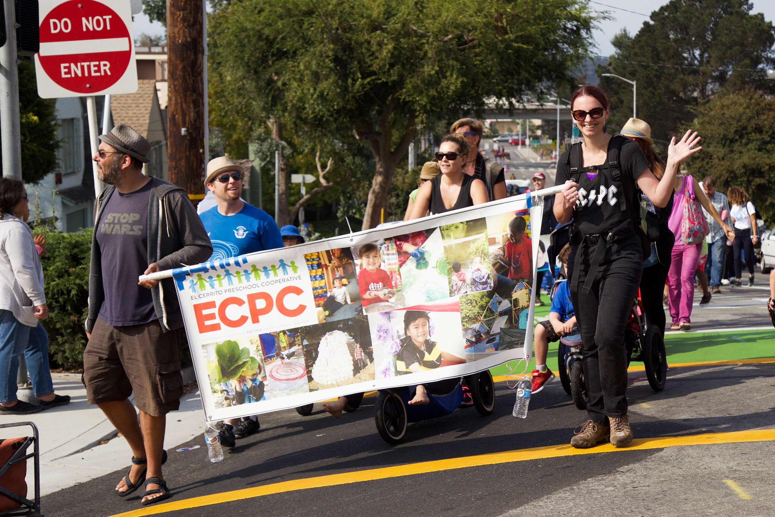258 ECPC in Parade - Photo by Marin Stuart