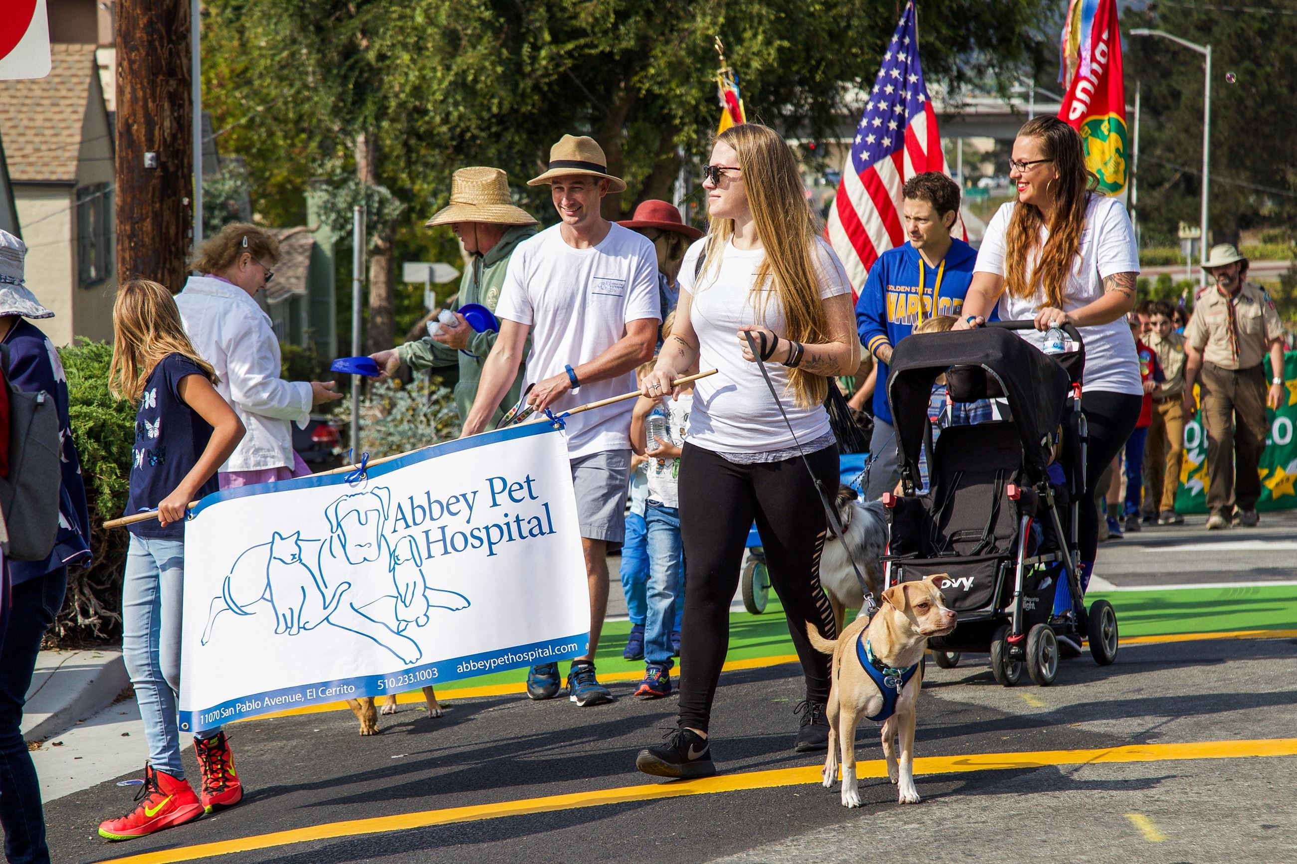 272 Abbey Pet Hospital in Parade - Photo by Marin Stuart