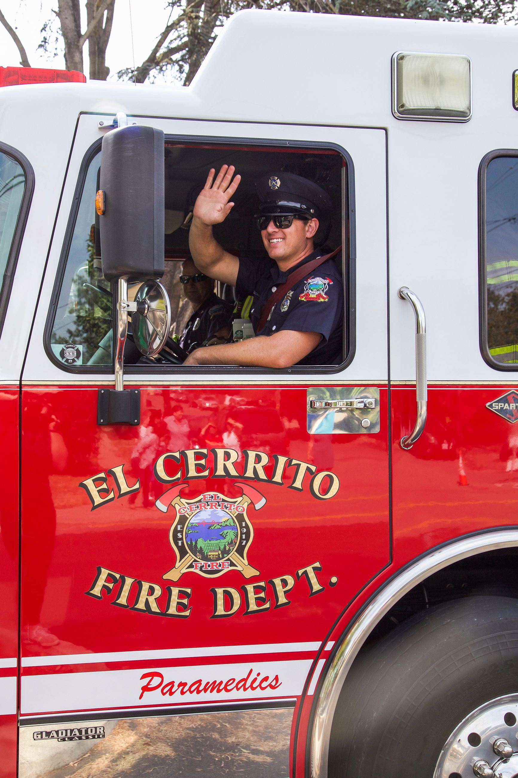 ECFD in parade 3 - Photo by Marin Stuart