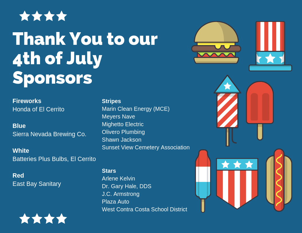 Thank You to our 4th of July Sponsors(1)