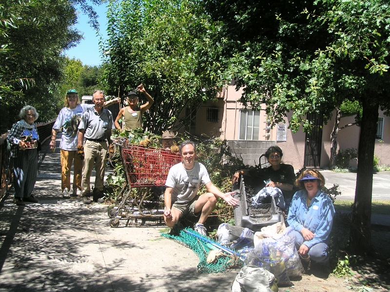 Creekside Cleanup Activity 2005