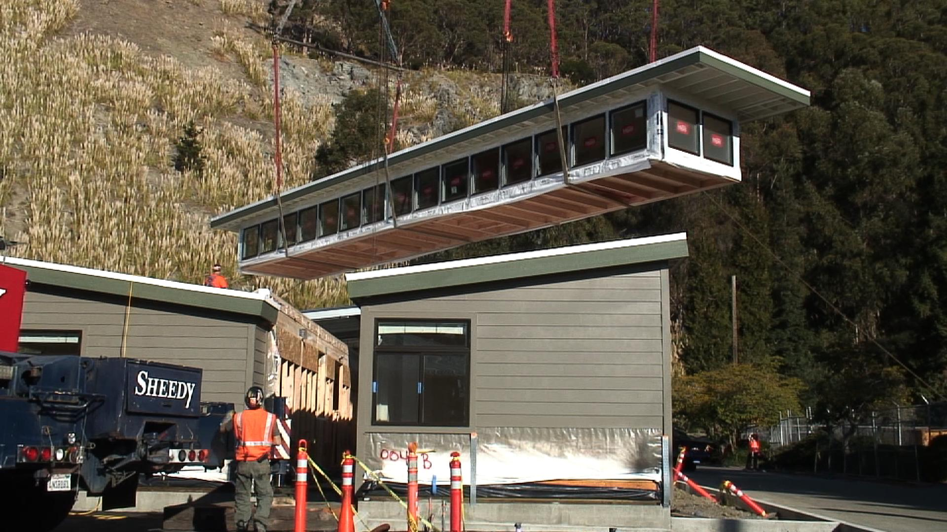 Modular building installation