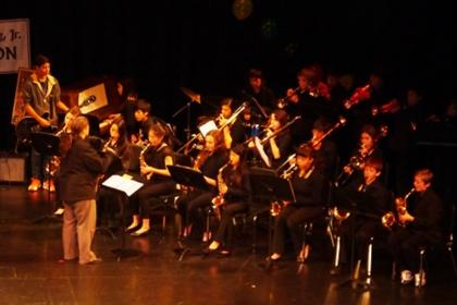 Portola Middle School Jazz Band played Dr. Martin Luther King Jr. Celebration in El Cerrito