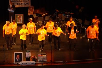 Bay Area Line Dancers perfromed at Dr. Martin Luther King Jr Celebration