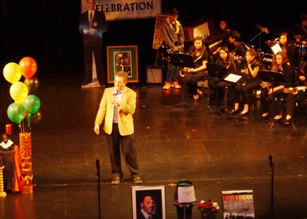 Mayor Lyman at Dr. Martin Luther King Jr. Program