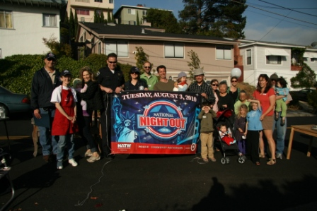 El Cerrito's National Night Out 2010