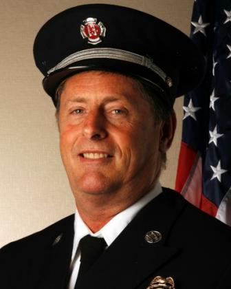 Battalion Chief Larry Carr