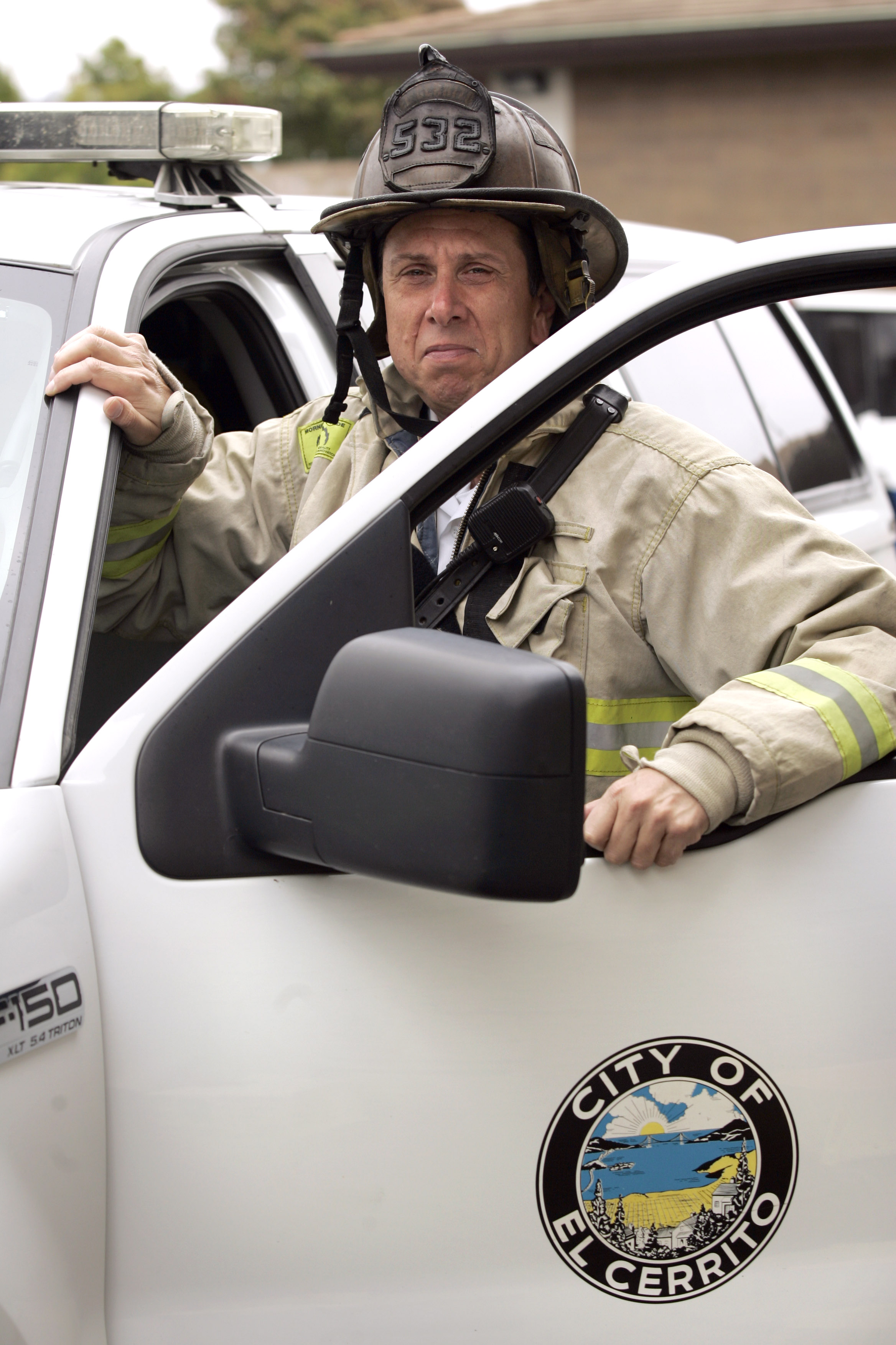 Battalion Chief David Gibson