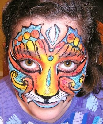 face painting by Vickie and Mike Resso