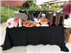 Refreshment Table at Bike to Work Day 2018