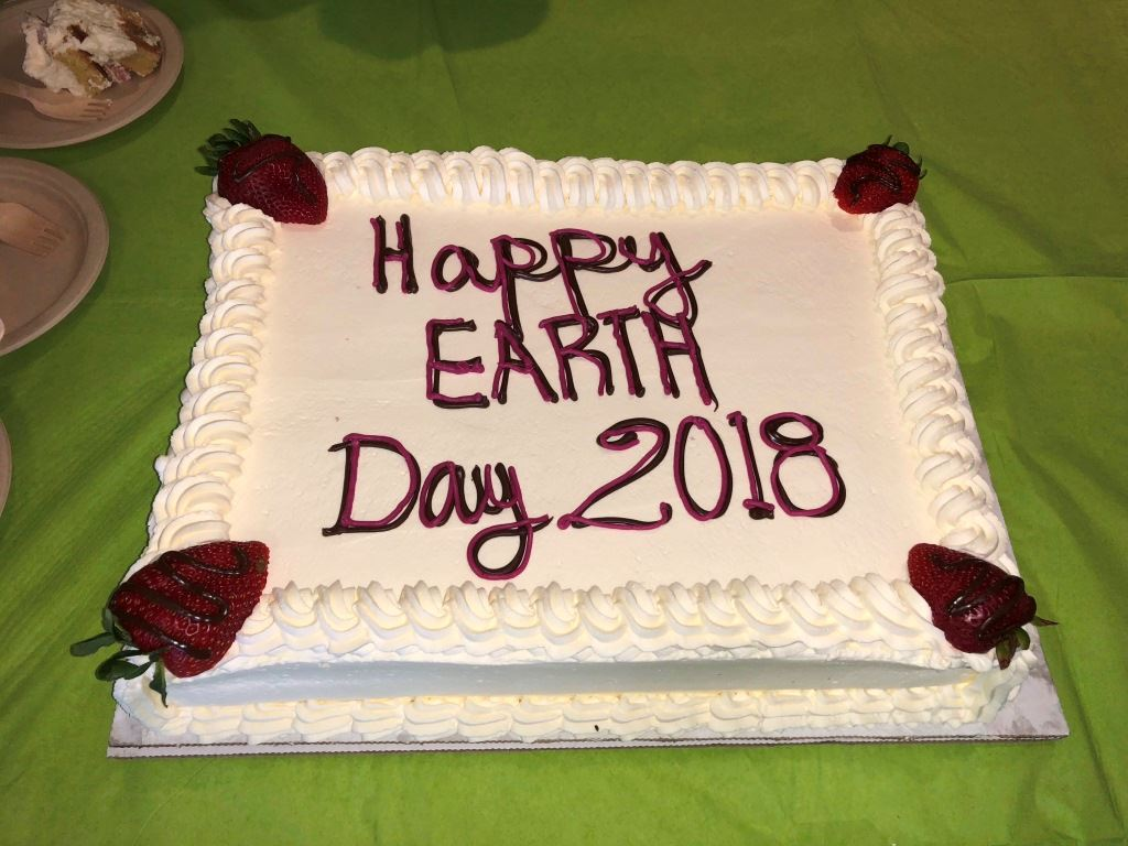Decorated Cake for Earth Day 2018