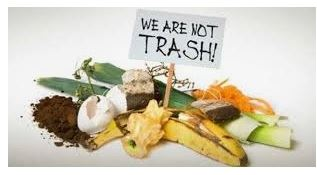 We Are Not Trash (Foodwaste image)