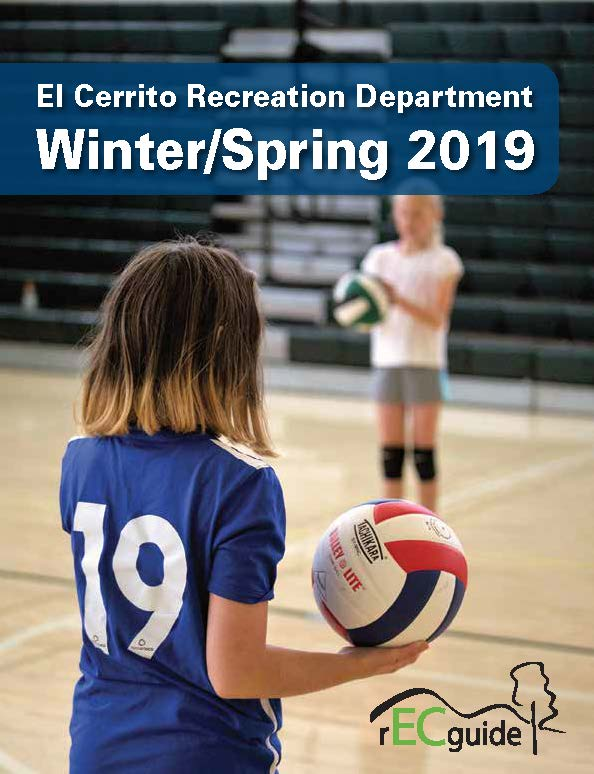Cover of activity guide for Winter and Spring 2019 Opens in new window