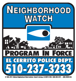 image of Neighborhood Watch decal