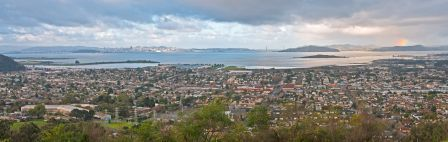 Panoramic View of El Cerrito