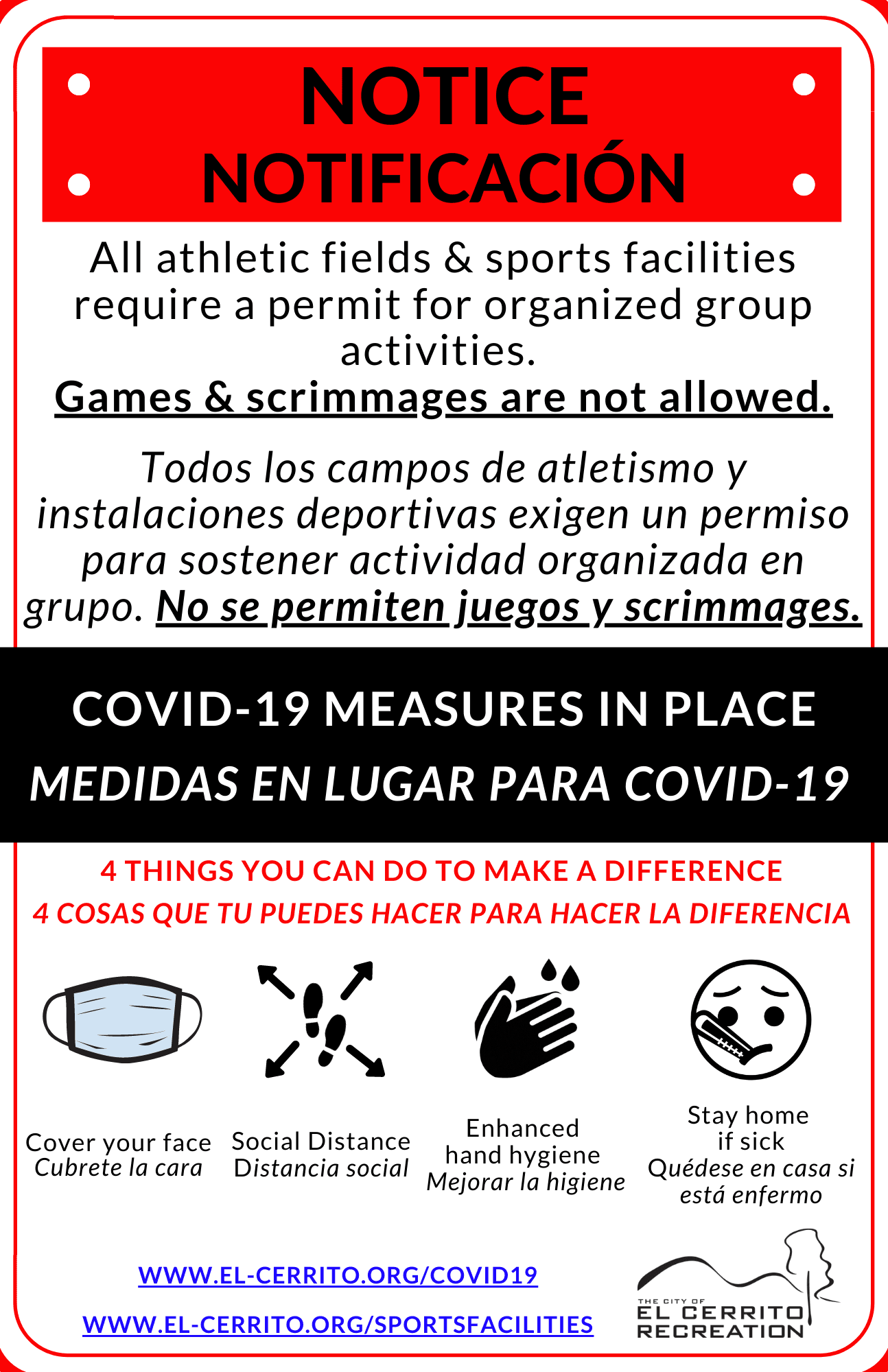 Sports Fields Sign